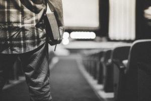 entering church